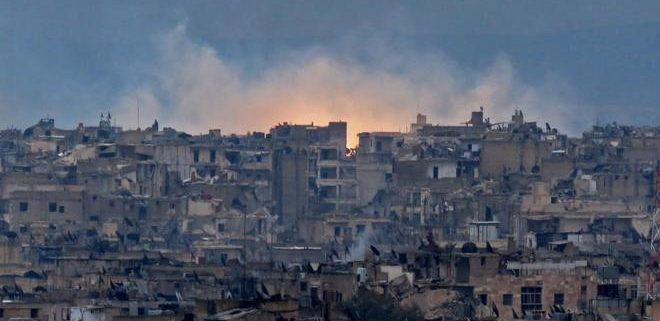 Aleppo. Fuente: AFP