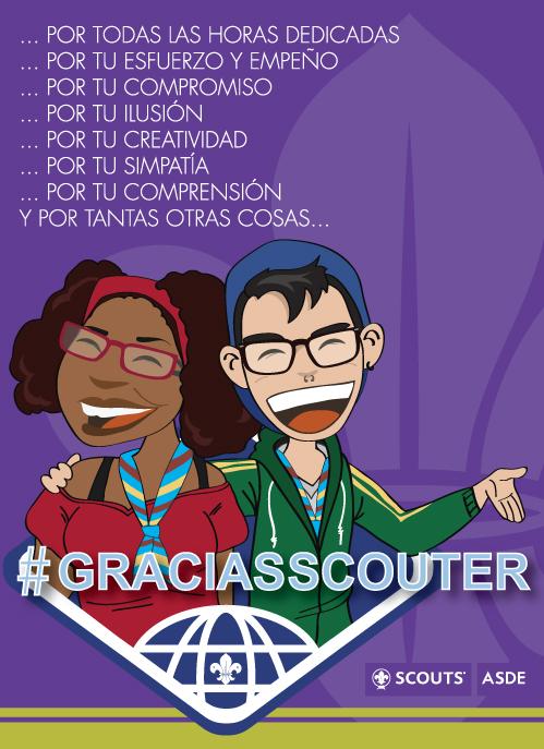 Felicitación Día del Scouter